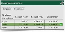 steuerklassen faktor berechnen faktorverfahren berechnen lohnsteuerklasse berechnen