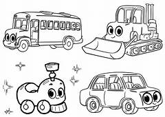 Morphle My Cute Coloring Pages Mophle Cars And