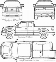 Ford F 350 Technische Daten - ford f 150 blueprint quelle www the blueprints
