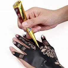 bmc 14pc mehndi henna tattoo starter kit 2 color cones w