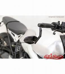 highsider handlebar end mirror victory evo with led indicator