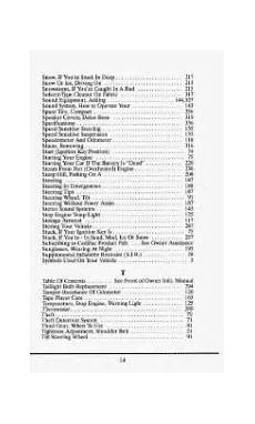 hayes car manuals 1993 cadillac deville user handbook 1993 cadillac deville problems online manuals and repair information