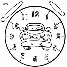 ausmalbilder uhr vorlagen 01 coloring pages diy for