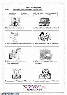 future simple tense interactive worksheet