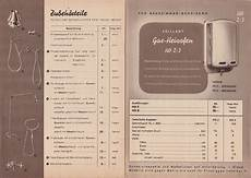 vaillant preisliste 38 vaillant brochure from 1938