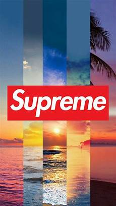 Black Home Screen Supreme Wallpaper