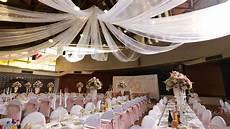 interior of a wedding hall stock footage video 100