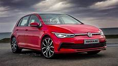 volkswagen golf 8 2019 alvast gevisualiseerd in