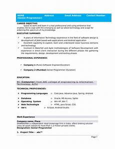 32 resume templates for freshers download free word
