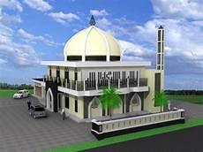 10 Terbaru Gambar Animasi Masjid Lucu