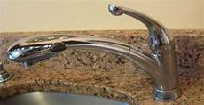 how to fix a leaky faucet kitchen how to repair leaky kitchen faucet one project closer