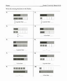 fraction bar worksheets 3856 fraction bars sle worksheets inequality