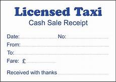 2 pads licensed taxi cash sale receipt 100 printed sheets per pad ebay