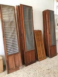 persiane legno usate porta finestra legno douglas posot class