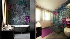 tapeten fürs bad wohlf 252 hbad mit tapete wall dec 242 im badezimmer design by