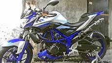 Modifikasi Yamaha Mt25 by Modifikasi Yamaha Mt25 Silver Kobayogas Your