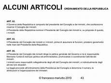 indirizzo presidenza consiglio dei ministri costituzione italiana