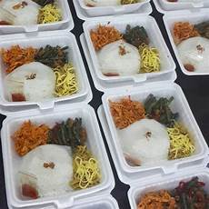 Nasi Kotak Foam Murah Meriah Hanya Rp 10 000 Trawas