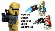 tutorial cool lego wars guns how to build custom
