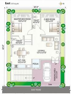 east facing duplex house plans 30 40 site house plan duplex east facing free download