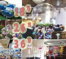 clear see through balloons 18 quot 36 quot large helium quality