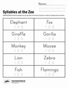 free printable open and closed syllable worksheets free printable