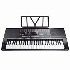 small electric keyboards 61 key 110v size electronic piano electric keyboard lcd display usb input mp3 black