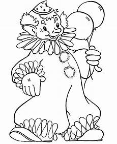 clown coloring pages for coloring worksheets 18