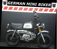 German Mini Biker - gmb skyteam skybongo 50 club 10 quot matt black edition