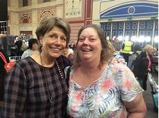 what did she do at ally pally today barbara gray