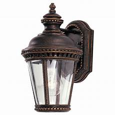 feiss castle bronze outdoor one light wall ol1900gbz bellacor