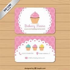 bakery name card template bakery business card vector premium