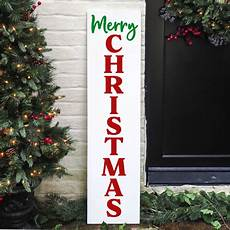 christmas porch sign svg christmas vertical svg happy go lucky