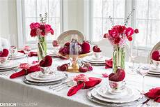Decorating Ideas For Valentines Day by S Day Decorations Plush Velvet Hearts Tablescape