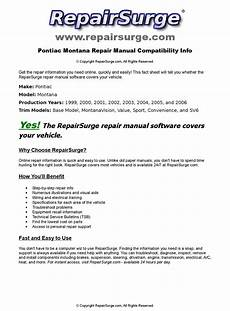 service manuals schematics 2000 pontiac montana parking system pontiac montana online repair manual for 1999 2000 2001 2002 2003 2004 2005 and 2006 by