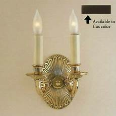 oil rubbed bronze sconce candle light wall l candelabra 2 light fixture new