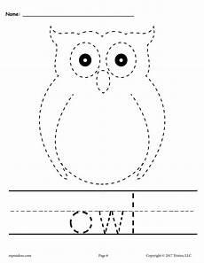 10 free printable fall tracing handwriting worksheets supplyme