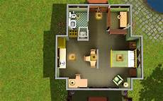 sims 3 small house plans sims 3 starter home floor plans