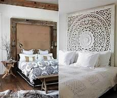 Schlafzimmer Ideen F 252 R Bett Kopfteil Selber Machen