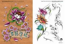 fiori di loto e farfalle flores 2