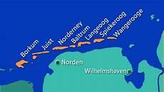 Ostfriesische Inseln Karte - nordsee ostfriesische inseln nordsee kultur planet
