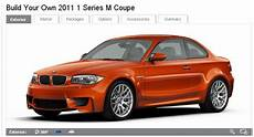 2011 Bmw 1 Series M Coupe Configurator Is Now