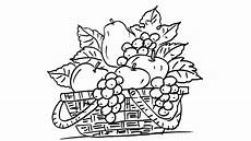 Malvorlagen Info Jogja Fruit Basket Line Drawing How To Draw A Fruit Basket