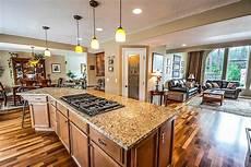 Wohnzimmer Mit Offener Küche - offene k 252 che mit wohnzimmer merkmale vor und nachteile