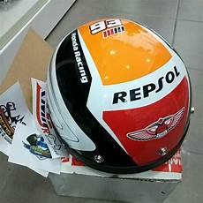 honda repsol helm new arrival mhr movistar repsol half helmet shopee malaysia