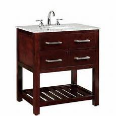 Espresso Bathroom Vanity Home Depot by Home Decorators Collection Fraser 31 In W X 21 1 2 In D