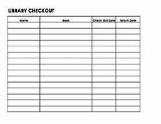 library check out sheet by mrsjulielain teachers pay teachers