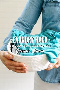 Laundry Hack How To Remove Grease Stains Live Simply