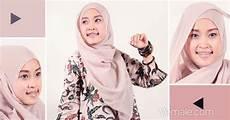 Cara Pake Cara Memakai Jilbab Segi Empat Modis