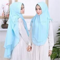 Jilbab Syar I Khimar Miranda Dengan Gambar Kerudung